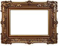 Настенное зеркало в деревянной раме №32