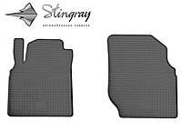 Коврики для салона авто Ниссан Альмера N16 2000- Комплект из 2-х ковриков Черный в салон. Доставка по всей Украине. Оплата при получении