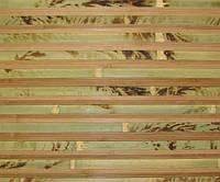 Обои бамбуковые, черепаха полосатая темная, AF-D-28, ширина рулона 1м, 1,5м