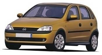 Автомобильные стекла для OPEL CORSA C