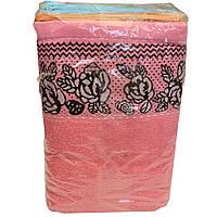 Полотенце для лица с розами