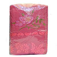 Полотенце для лица с цветами