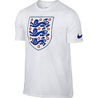 Футболка мужская Nike England Crest Tee Shirt 742201-100
