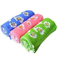 Кухонное полотенце с ромашками