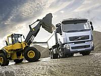 Услуги по доставке сыпучих строительных материалов