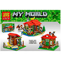 Конструктор «MY WORLD» Lele 33020
