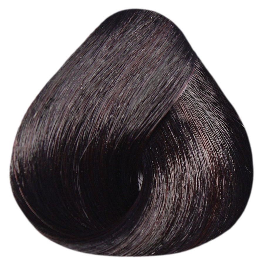 Краска-уход Estel Professional De Luxe Silver 4/6 Шатен фиолетовый 60 мл.