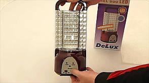Аварийный светильник DELUX REL 600 (4V5.5Ah) LED с солнечной батареей, фото 2