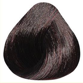 Краска-уход Estel Professional De Luxe Silver 4/75 Шатен коричнево-красный 60 мл.