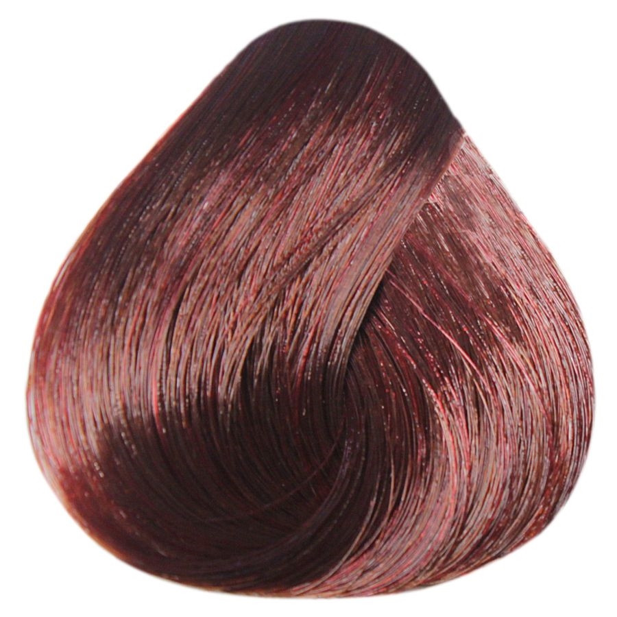 Краска-уход Estel Professional De Luxe Silver 6/54 Темно-русый красно-медный 60 мл.