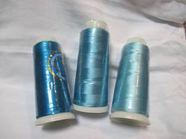 Нитки шовк (віскоза) для машинної вишивки