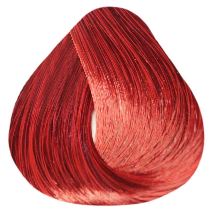 Краска-уход Estel Professional De Luxe EXTRA RED 77/55 Русый красный интенсивный 60 мл.