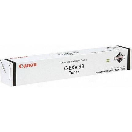 Тонер Canon C-EXV33 iR2520/2520i/2530/2530i Black, фото 2