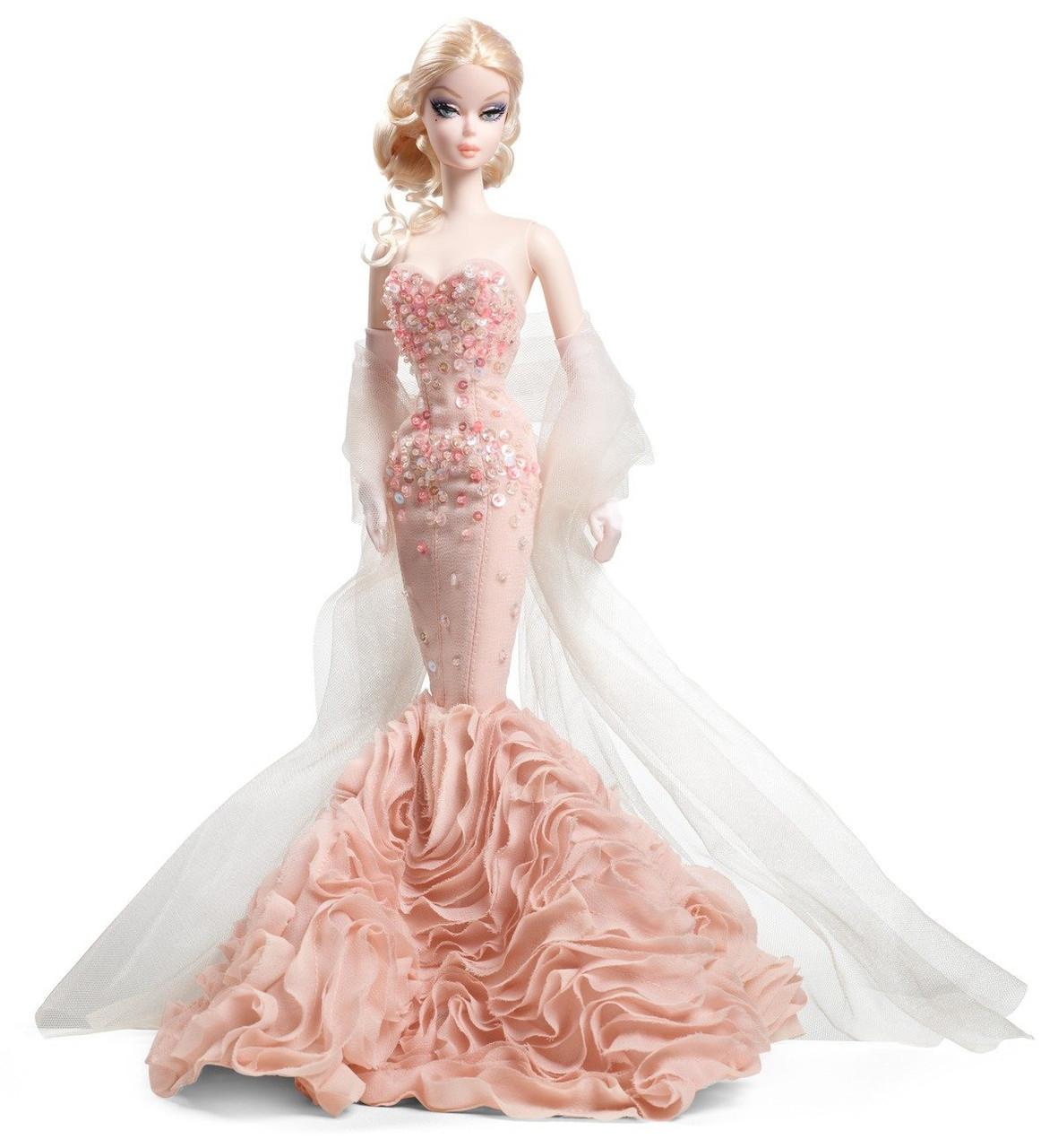 Коллекционная кукла Барби Силкстоун Платье Русалка / Mermaid Gown Barbie Doll