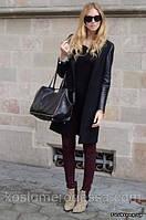 ЛК06 Женское пальто на пуговице, фото 1
