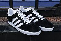 Кроссовки Adidas Originals Gazelle II (Black/White), фото 1