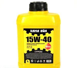 Масло моторное Минеральное КАМА (kama) 15w-40 1л