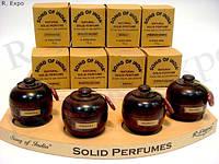Сухие натуральные духи в деревянной упаковке Honey Suckle, 6 гр