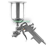 Пистолет покрасочный пневматич., форсунка 1.5 мм, В/Б металл, 600 мл, 3.5-5 bar