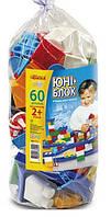Детский конструктор Юні-блок 60 элементов