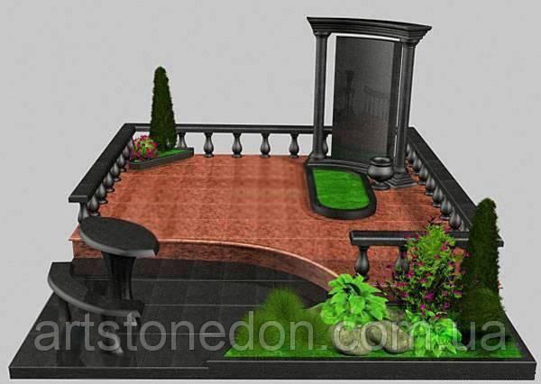Мемориальный комплекс из гранита № 11