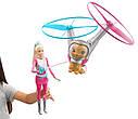 Кукла Барби с летающим котом Космическое приключение Barbie Star Light Galaxy, фото 4