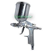 Пистолет покрасочный пневматич. мини, форсунка 0.5 мм, В/Б, 200 мл, 3.5-5 bar