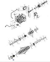 Пластина тормоза стояночного, T8.390/Mag.340,  87347805