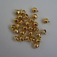Колокольчик декоративный, шармик,  золото, метал
