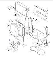 Крильчатка вентилятора на 8 лопастей (87445032), T8040/Mag.310/MX285/255, 87445032