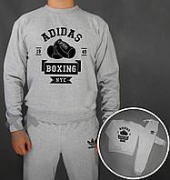 Спортивный костюм Adidas Boxing серого цвета, фото 1