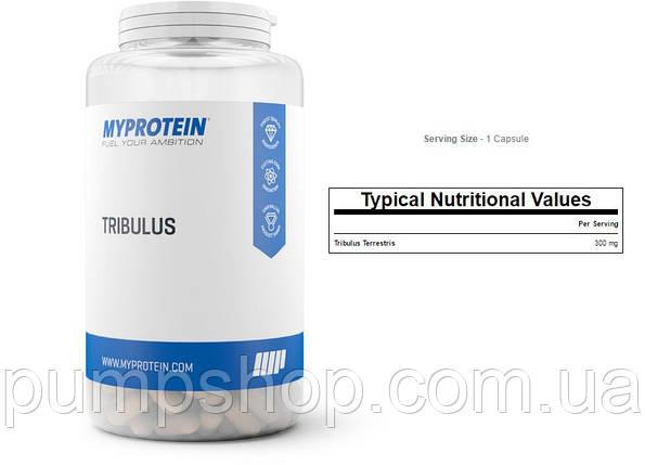 Для підвищення тестостерону MyProtein Tribulus 100 капс., фото 2