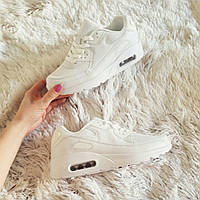 Женские белые  кроссовки Air Max  код 217 40 и 41 размеры