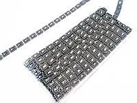Украшение на ленте т-серебро 9м в упак