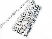 Тесьма серебро 9м в упаковке