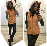 Женская демисезонная куртка жилетка