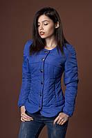 Женская молодежная демисезонная куртка. Код модели К-88-37-17. Цвет электрик.