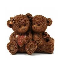 Подарок для любимой девушки на 8 марта. Шоколадные влюбленные мишки, фото 1