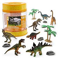 Набор динозавров Animal Planet в пластиковом ведерке
