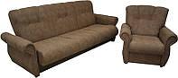 """Комплект элегантной мягкой мебели, раскладной книжка с двумя креслами """"Консул"""""""
