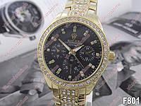 Женские кварцевые наручные часы Rolex F801