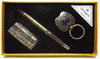 Подарочный набор MOONGRASS: ручка + брелок + зажигалка