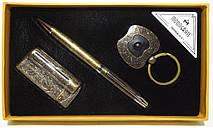 Подарунковий набір MOONGRASS: ручка + брелок + запальничка