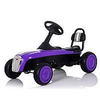 Детский велокарт веломобиль Bambi M 3413-9 фиолетовый