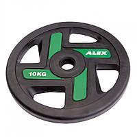 Диск для олимпийской штанги 10 кг Alex