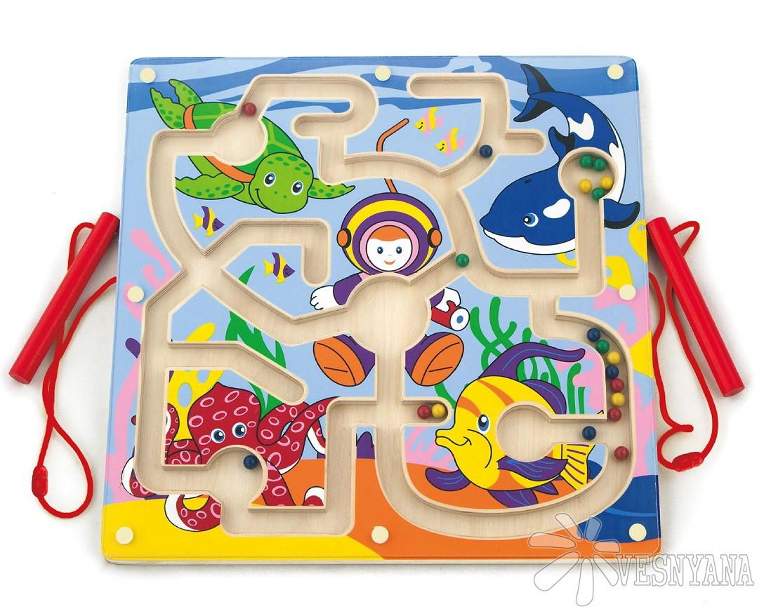 """Игрушка Viga Toys Лабиринт """"Подводный мир"""" (50123)"""