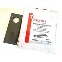 Нож роторной косилки GRANIT (Оригинал) 96х3мм (52506561542-25)
