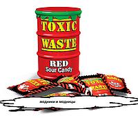 Самые кислые конфеты в мире - TOXIC WASTE RED