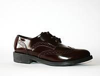 Женские туфли броги Tous La Vie натуральная кожа 36