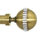 Кованые карнизы ø19 мм цвет античное золото